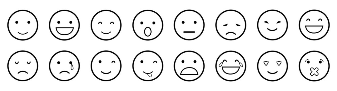 outline emoji icon