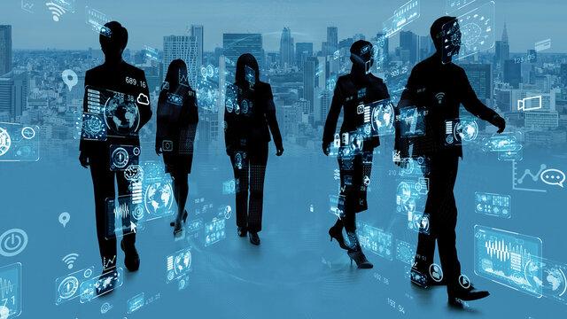 ビジネスネットワーク 進歩 成長
