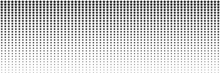 Obraz horizontal black blended star for pattern and background - fototapety do salonu