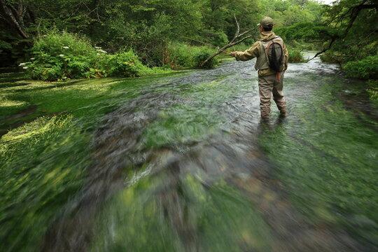 Riv.Nishibetsu, flyfishing 初夏の西別川フライフィッシング