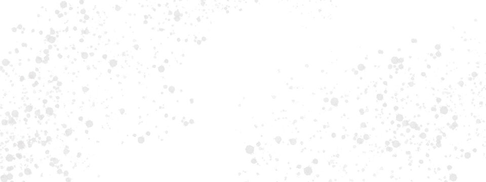 abstract grey color drop on white background with space