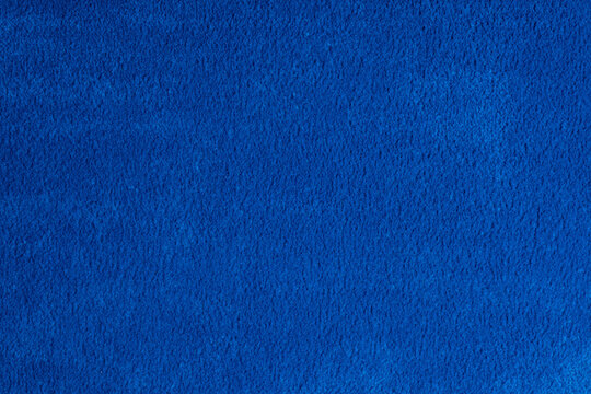 closeup blue carpet background, wallpaper