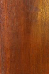 Fototapeta Ciemno brązowe drewniane tło, tekstura desek z pęknięciami. obraz