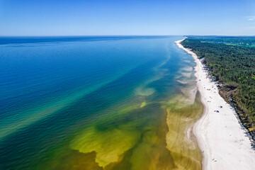Baltic Sea - beautiful Polish coast.
