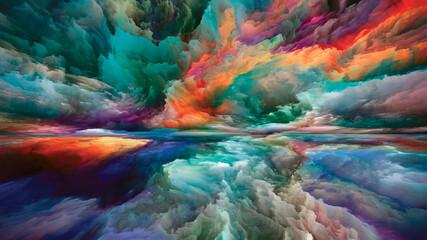 Obraz Reality of Land and Sky - fototapety do salonu