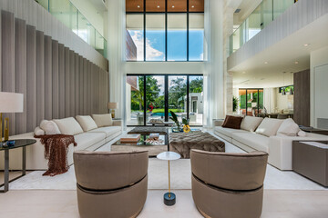 Obraz Home Interior - fototapety do salonu