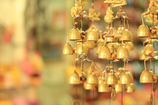 Close-up Of Windchime Hanging For Sale