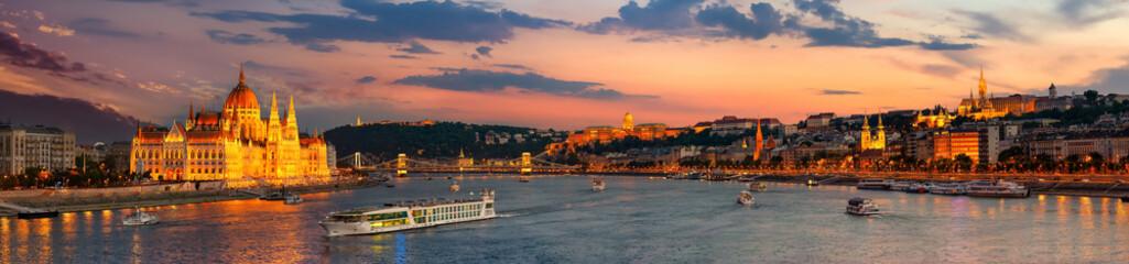 Fototapeta Budapest at night obraz