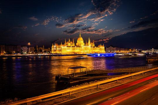 Famous landmarks in Budapest