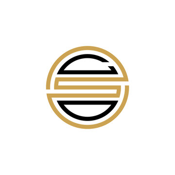 CSO creative letter logo design vector icon illustration