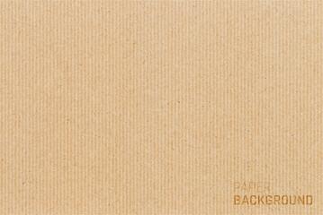 Fototapeta Brown cardboard paper texture background. Vector illustration eps 10 obraz