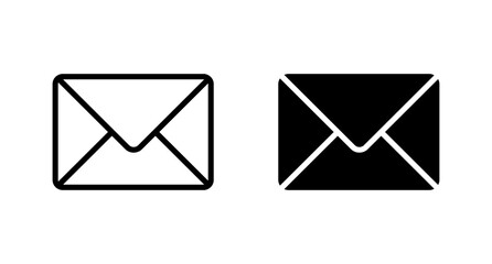 Obraz Envelope icon, Mail icon vector for web, computer and mobile app - fototapety do salonu