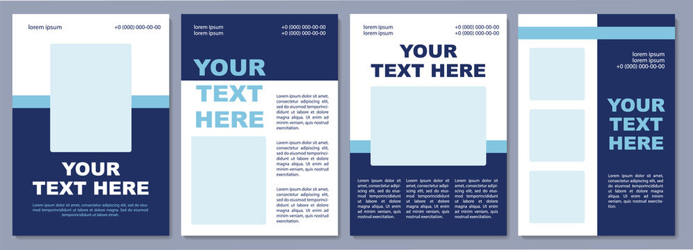 Information about upcoming sale brochure template. Flyer, booklet, leaflet print, cover design with copy space. Your text here. Vector layouts for magazines, annual reports, advertising posters