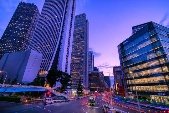 東京 新宿夜景 2021
