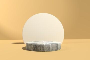 Obraz Abstract 3D render of a podium - fototapety do salonu