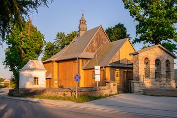 Fototapeta Zabytkowy Kościół obraz