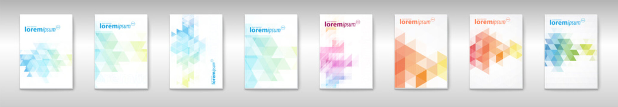 Business Brochure. Flyer Design. Leaflets a4 Template. Abstract Brochure Templates.