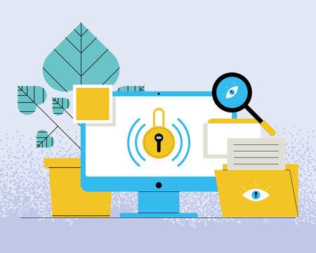 cybersecurity in desktop