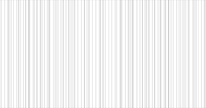 Abstract thin grey vertical striped pattern. . Background for wallpaper, web page, surface textures. Vector illustration, banner, poster, template for greeting card, scrapbooking