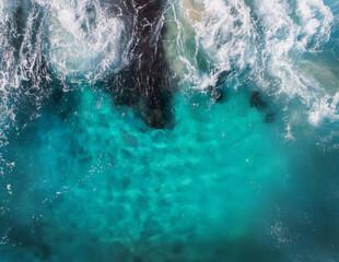 Obraz splash in the sea - fototapety do salonu