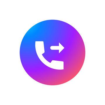 Outgoing Call - Sticker