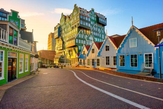 Zaandam city, North Holland, Netherlands