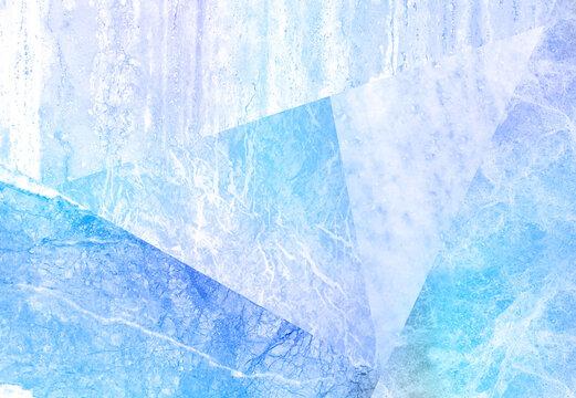 青い大理石の背景テクスチャ