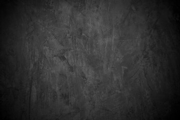 Fototapeta Old wall texture cement dark black gray  background abstract grey color design are light with white gradient background. obraz