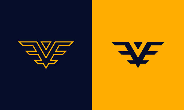 Logo EVE white space or negative space  and eagle wing