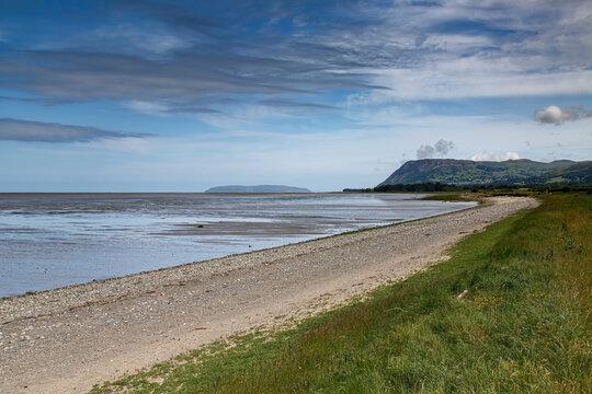 A view across the Menai Straits of Llandudno from Wales Coastal Path, Llanfairfechan, Wales