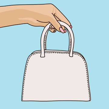 hand holding a bag