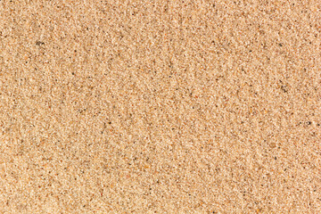Sand nature texture. Top view of beach sand background