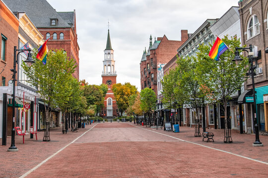 Church Street Marketplace - Shops, dining and community gathering spot in downtown Burlington, VT