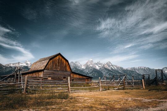 Grand Teton National Park and John Moulton Barn