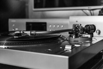 Fototapeta Muzyka z gramofonu obraz