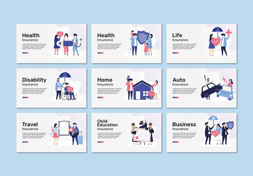 Editable Layout for Insurance Presentation