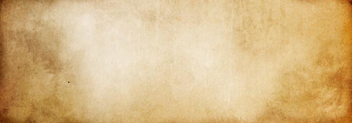 Fototapeta Brown paper texture, vintage background made of old paper obraz