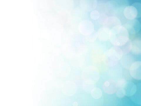 キラキラした光の抽象的背景素材グラデーションブルー2
