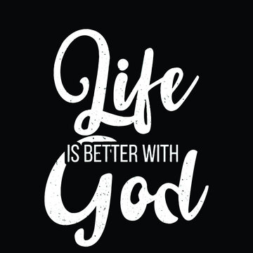 life is better with god baseball Logo Vector Template Illustration Graphic Design design for documentation and printing