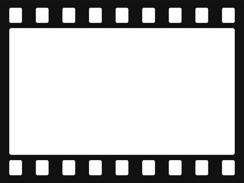 ネガフィルムのイラスト