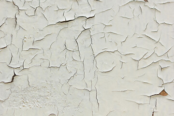 An old painted wall. Background of damage surface