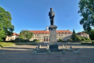 Obraz Budynek Urzędu Wojewódzkiego w Koszalinie, Polska - fototapety do salonu