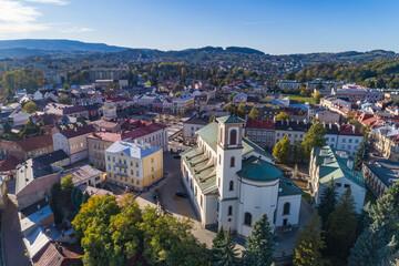Fototapeta Gorlice, centrum miasta obraz