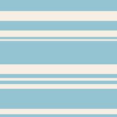 Seamless marine pattern, flat blue stripes on a beige light background