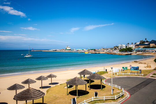 Mosselbay beach during the lockdown of 2020