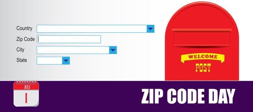 Card Zip Code Day