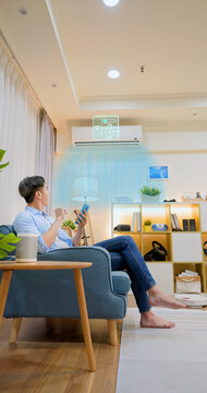 control air-conditioner by smart phone
