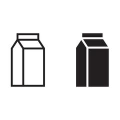 Fototapeta Milk icon obraz