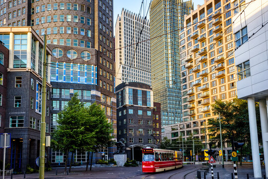 The Hague city, South Holland, Netherlands
