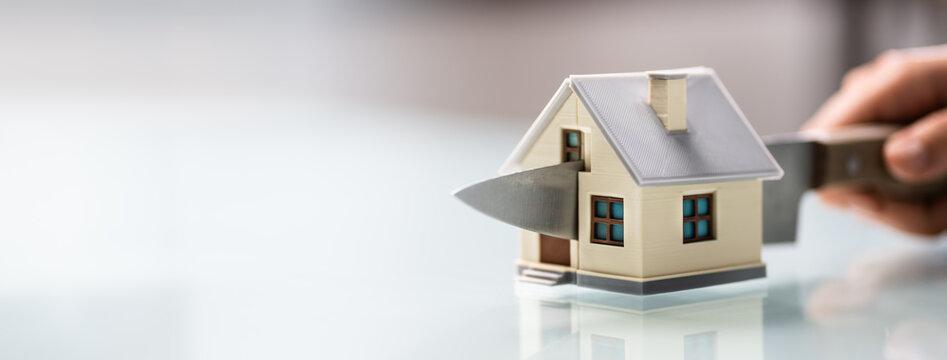 House Property Divided. Divorce